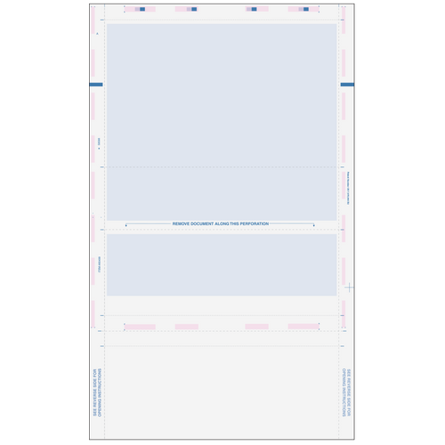80499 - Pressure Seal EZ-Fold Blue Check with Flat Background