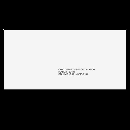 OHEF410 - Ohio State E-File Envelope