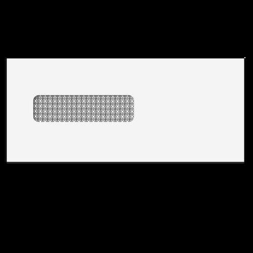 E44432 - Single Window Envelope - Moisture Seal - 3 7/8 x 8 7/8