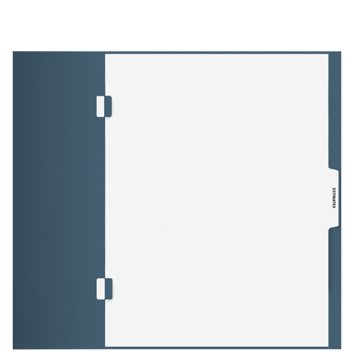 TB104S - 'Estimates' Side Staple Index Tab Divider