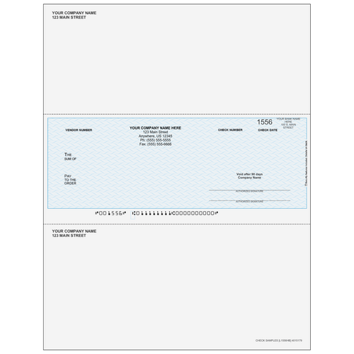 L1556 - Accounts Payable Middle Business Check