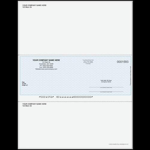 L1593 - Multi-Purpose Middle Business Check