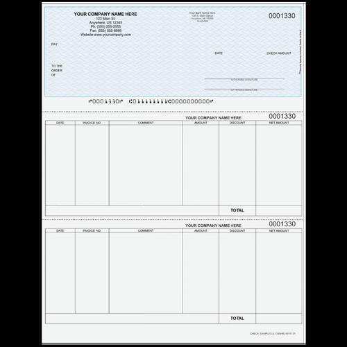 L1330 - Accounts Payable Top Check