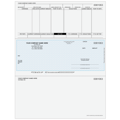 L81063 - Payroll Middle Business Check