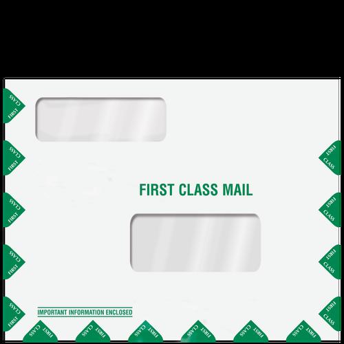 LA100 - First Class Double Window Envelope