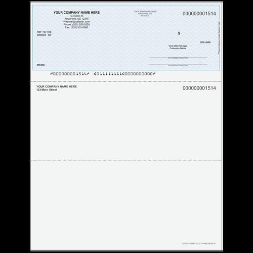 L1514 - Multi-Purpose Top Business Check