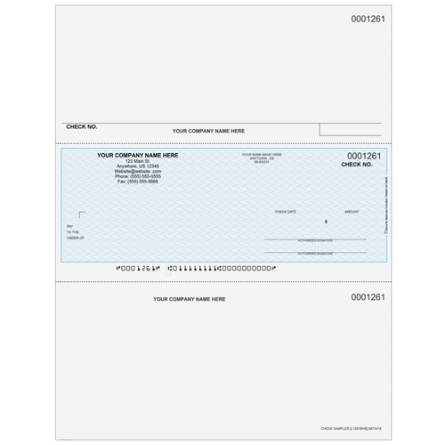 L1261B - Payroll Middle Business Check