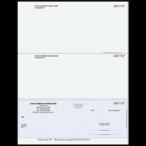 L1107 - Multi-Purpose Bottom Business Check