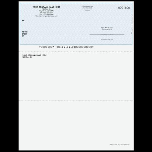 L1600 - Multi-Purpose Top Business Check
