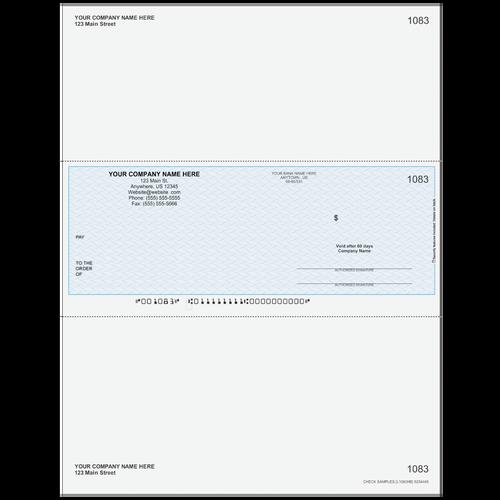 L1083 - Multi-Purpose Middle Business Check