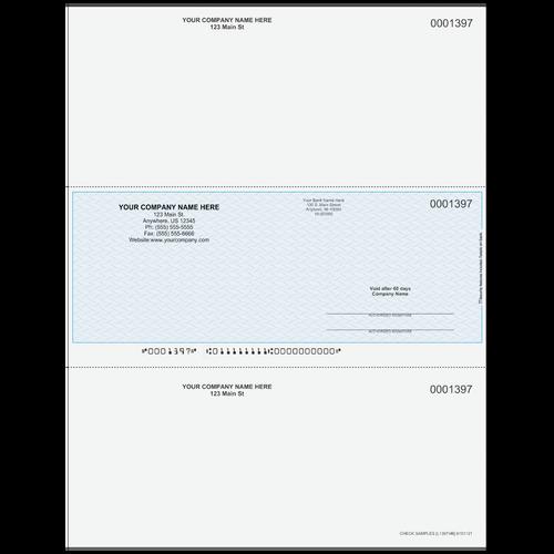 L1397 - Multi-Purpose Middle Business Check