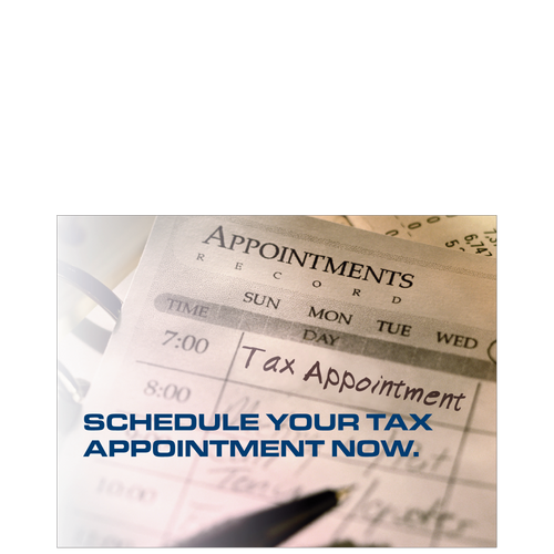 PC56 - Tax Appointment Scheduling Reminder Postcard