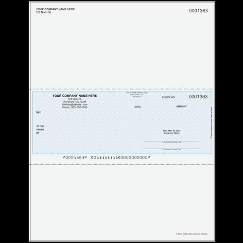 L1363 - Multi-Purpose Middle Business Check
