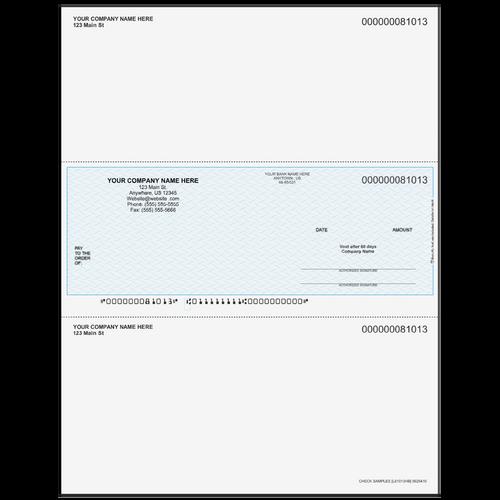L81013 - Multi-Purpose Middle Business Check