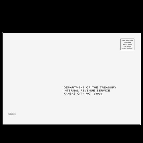 FMO610 - 1040 All Return Envelope - Kansas City, MO