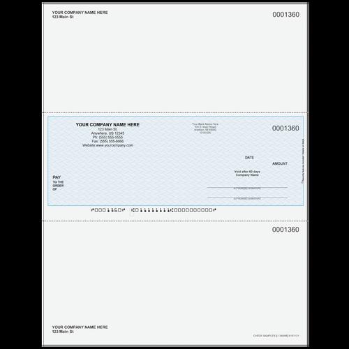 L1360 - Multi-Purpose Middle Business Check