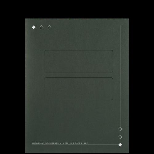 60XX - Top-Staple Folder with Windows