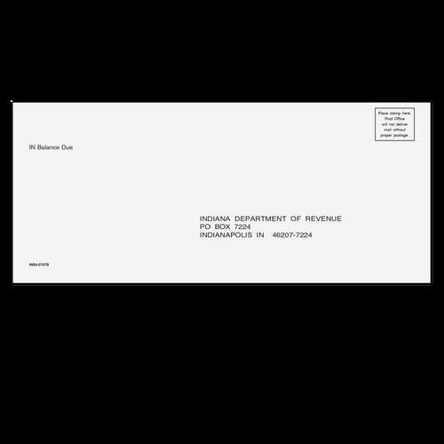 INB410 - IN Balance Due Envelope