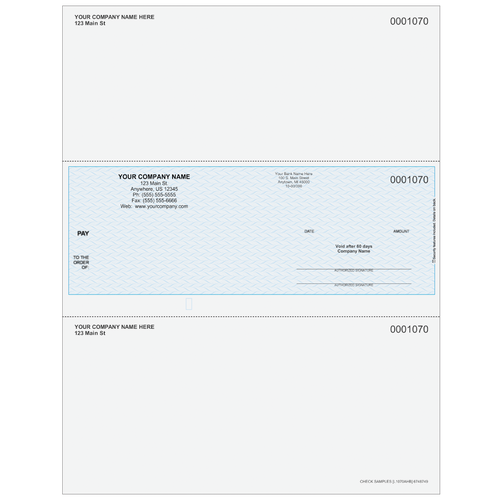 L1070A - Multi-Purpose Middle Business Check