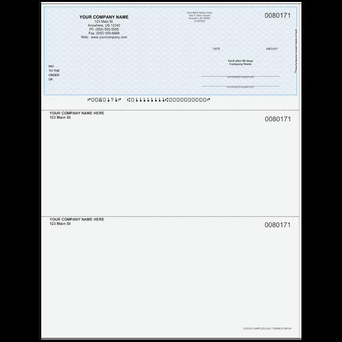 L80171B - Multi-Purpose Top Business Check