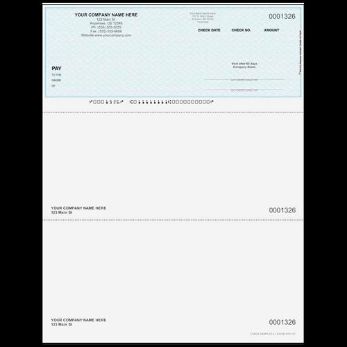 L1326 - Multi-Purpose Top Business Check