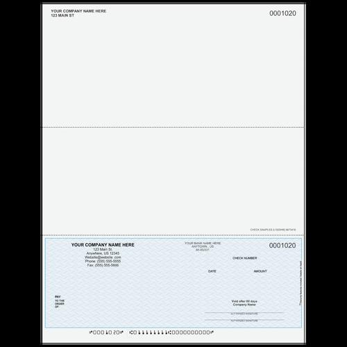 L1020 - Multi-Purpose Bottom Business Check