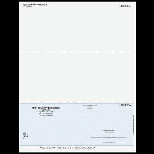 L1332 - Multi-Purpose Bottom Business Check