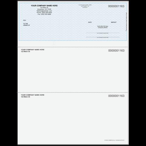 L1163A - Multi-Purpose Top Business Check