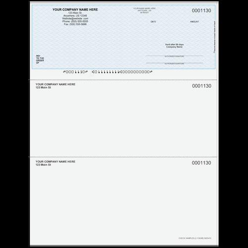 L1130 - Multi-Purpose Top Business Check