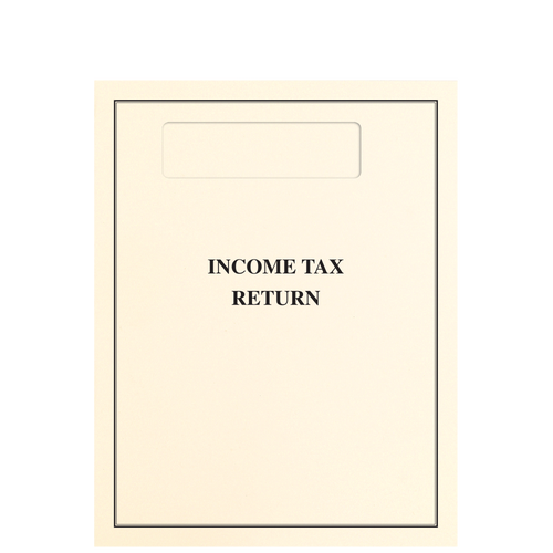 OTOPXX - Top-Staple Income Tax Return Folder with Official 1040 Window