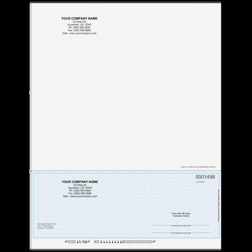 L1498A - Multi-Purpose Bottom Business Check (One Perf)