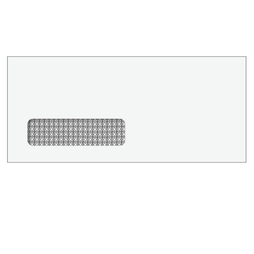 "80712S - Single Window Envelope - 3 7/8"" x 8 7/8"" (Self Seal)"