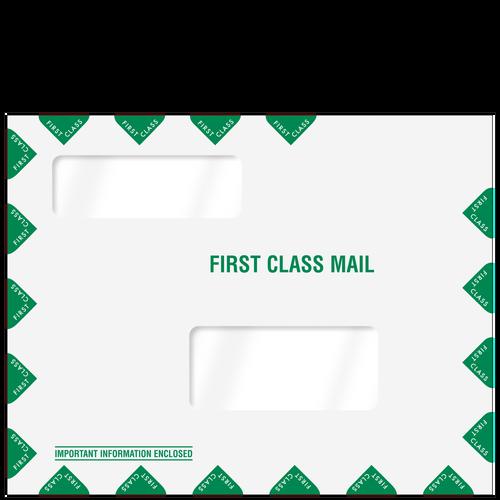 80344 - Double Window Tax Organizer Mailing Envelope
