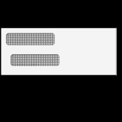 E9153414 - Double Window Envelope (Moisture Seal)