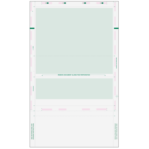 80400 - Pressure Seal EZ-Fold Green Check with Flat Background