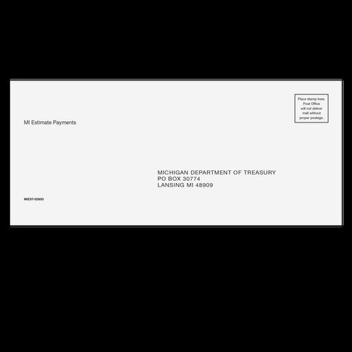 MIEST10 - Michigan Estimate & E-file Envelope