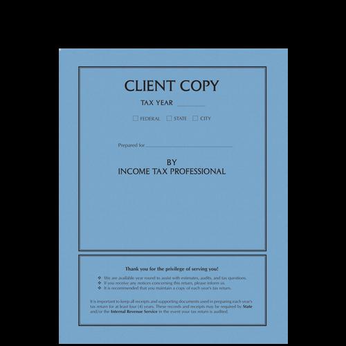 TAXCVRX - Client Copy Folder