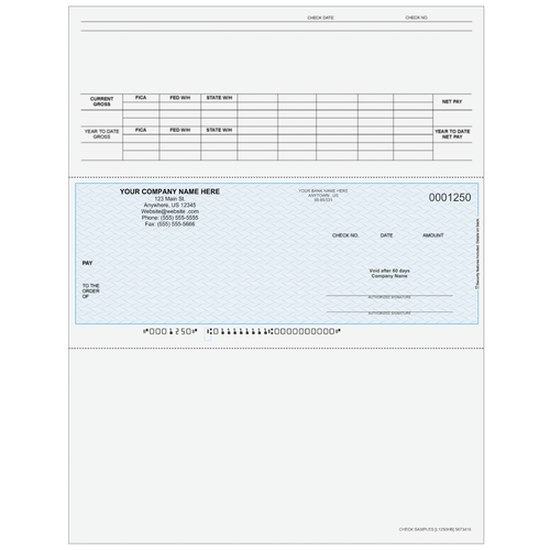 L1250 - Payroll Middle Business Check