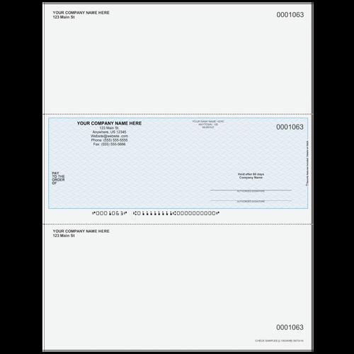 L1063A - Multi-Purpose Middle Business Check