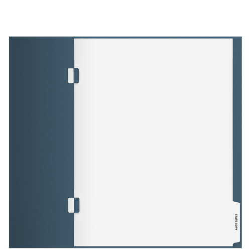 TB103S - 'State Copy' Side-Staple Index Tab Divider