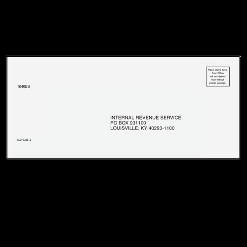 ESKY110 - 1040-ES Envelope - Louisville, KY
