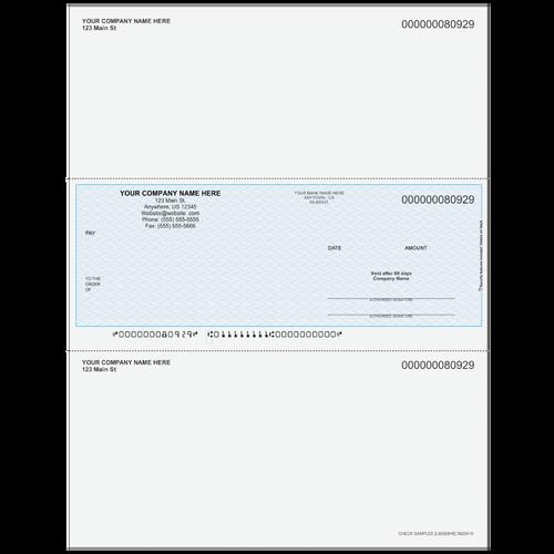 L80929  -Multi-Purpose Middle Business Check