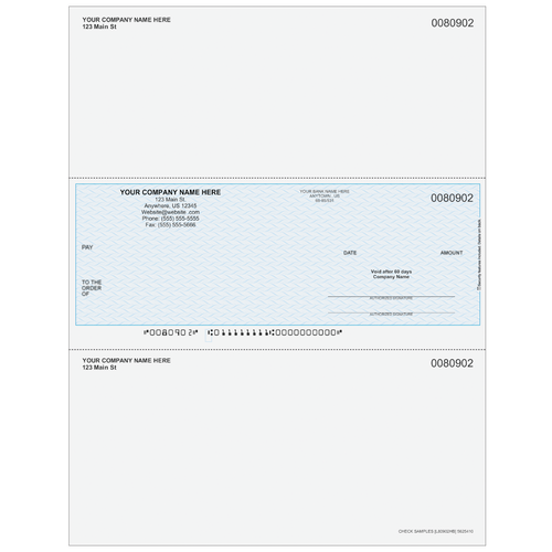 L80902 - Multi-Purpose Middle Business Check