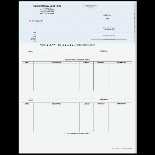 L1566 - Accounts Payable Top Check