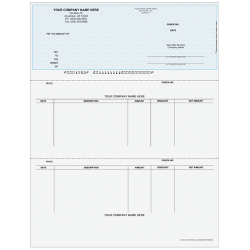 L1566 - Accounts Payable Top Business Check
