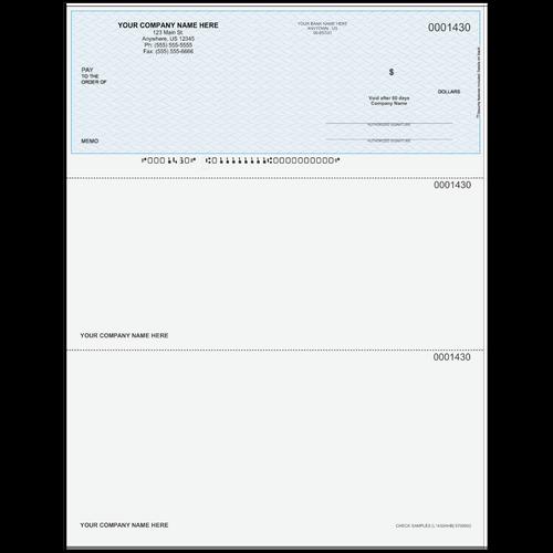 L1430A - Multi-Purpose Top Business Check