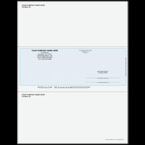 L1123 - Multi-Purpose Middle Business Check