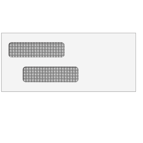 "70031S - Double Window Envelope - Self Seal - 3 7/8"" X 8 7/8"""