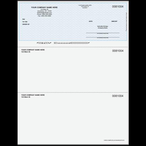 L81004A - Multi-Purpose Top Business Check