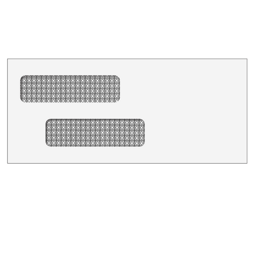 70031 - Double Window Check Envelope